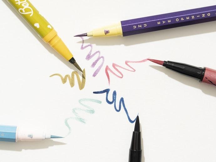 眼線液:色澤鮮艷、線條俐落