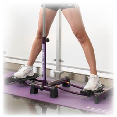 塑腿:左右開合型滑步機