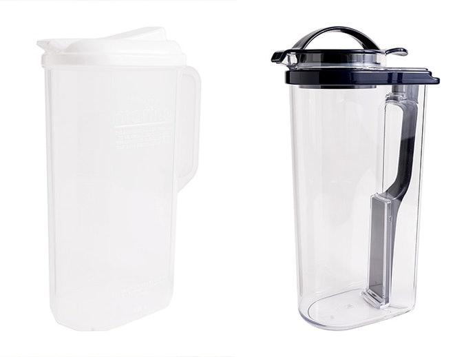 塑膠:重量輕巧,不易破裂