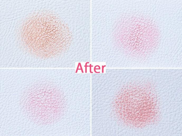 【實測結果】幾乎所有商品都沒有明顯的掉色狀況,持妝程度不分軒輊!