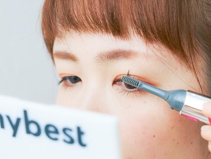 勿過度加溫以防睫毛受損