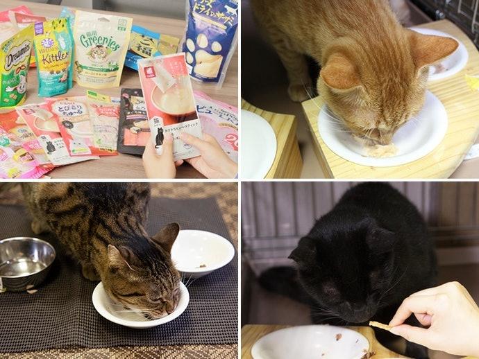 開箱27款人氣日本貓零食