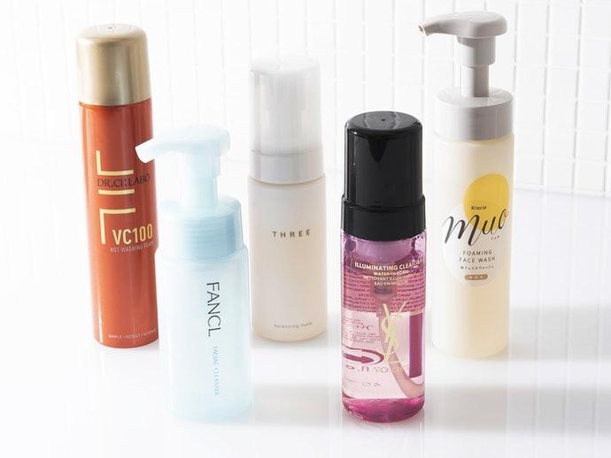 泡沫型(慕斯型):自動起泡洗臉更省時