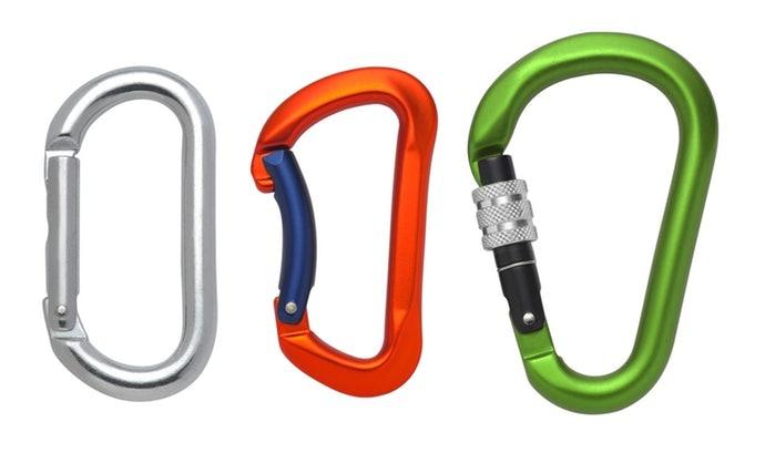 彩色掛勾或吊繩有助於加速找尋