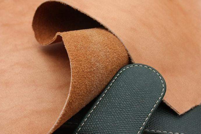 皮革的好壞取決於鞣製方法—最適合丹寧酸鞣的「牛皮」