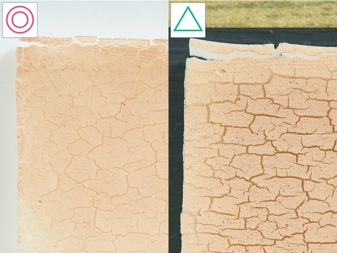 【實測結果】天然系表現出色,能滋潤緊貼肌膚
