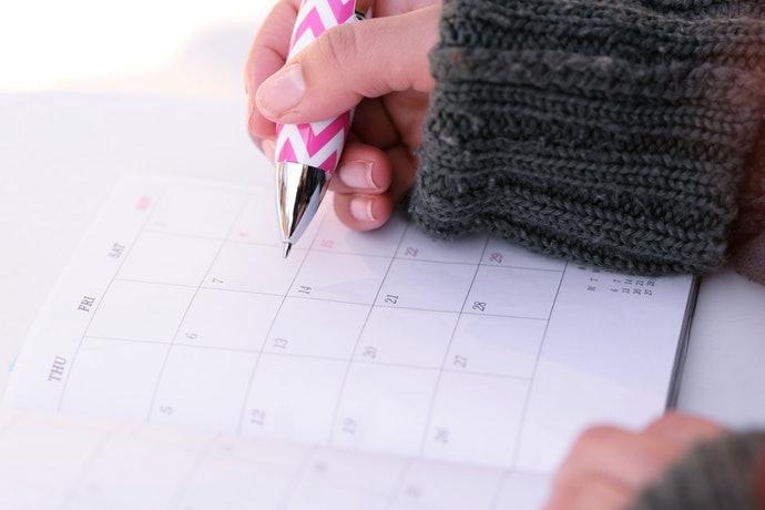 首次購買推薦排版簡單、書寫空間較少的行事曆