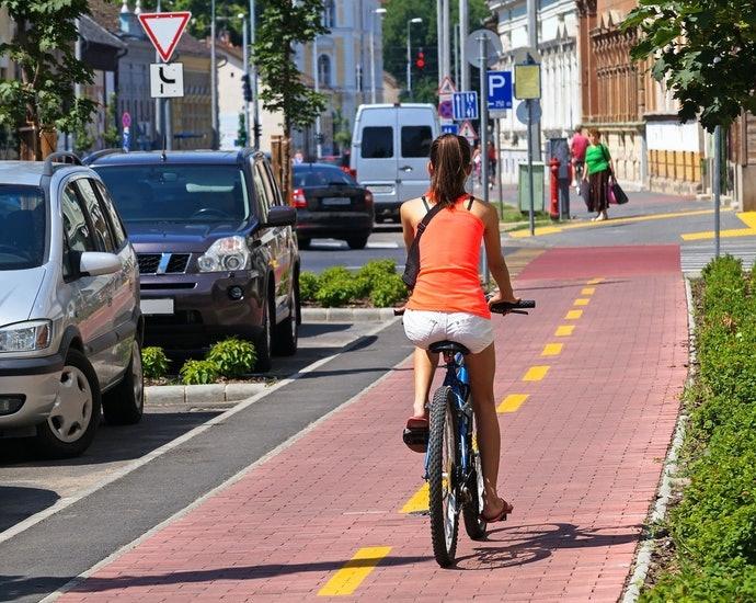 騎乘於一般道路為主