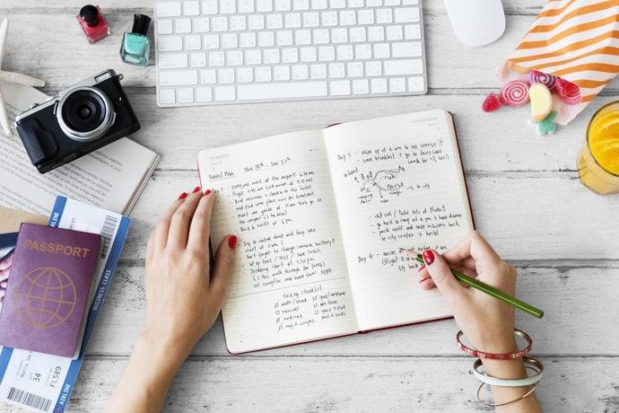 一頁一日型:書寫自由度高,可取代日記本
