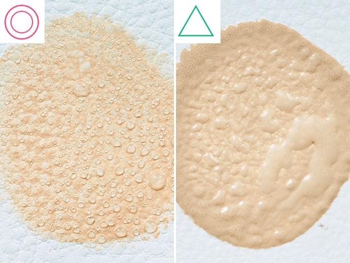 【實測結果】有添加矽靈成分的款式名次趨於領先,霧面妝感對於皮脂的防禦力相對較強