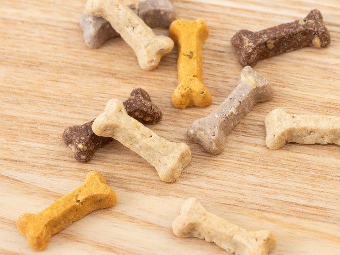 訓練幼犬:應選擇口感、成分與飼料相近的零食