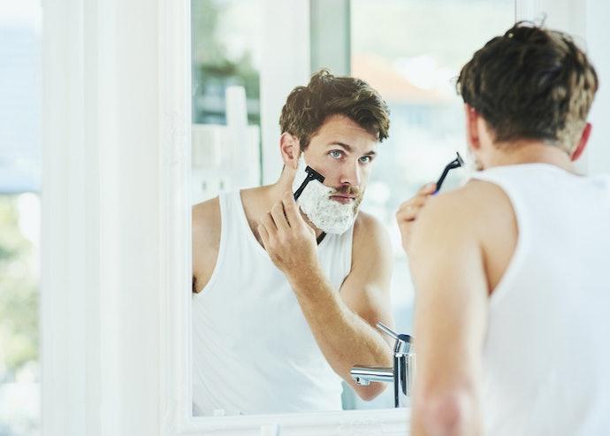 沁涼配方:可讓刮鬍過程更舒暢