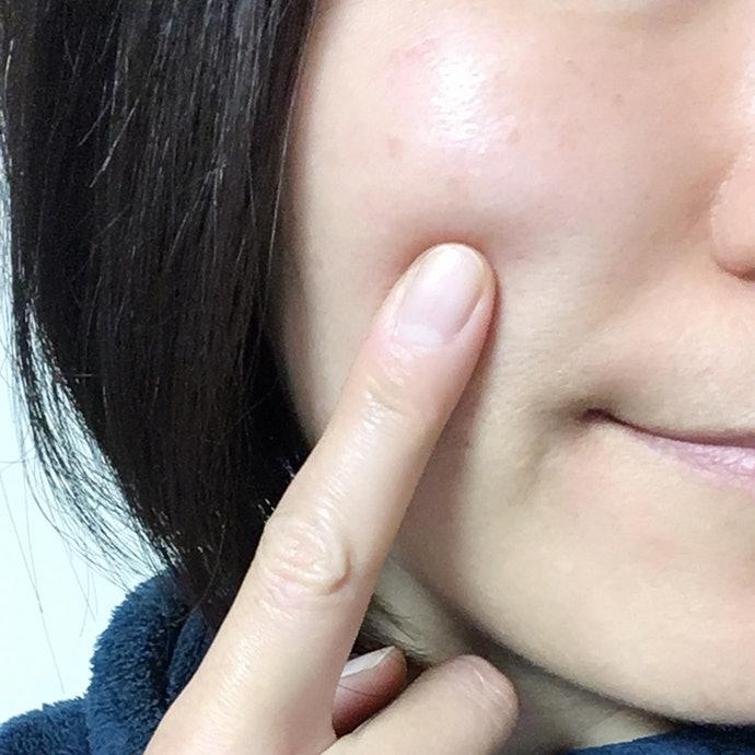 笑起來時的眼周細紋好像變不明顯了?