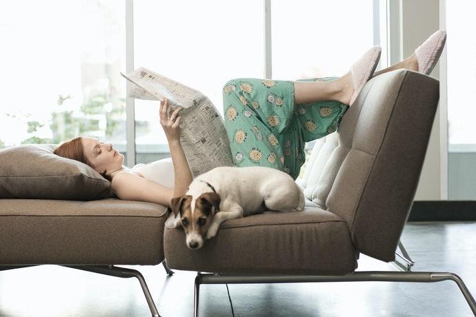講求放鬆首選附頭枕或躺椅的類型