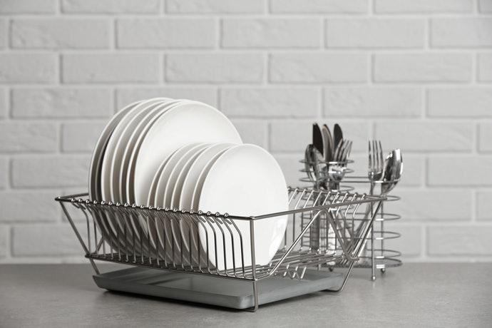 瀝水籃:大容量兼具高便利性,同時可瀝乾多量器皿