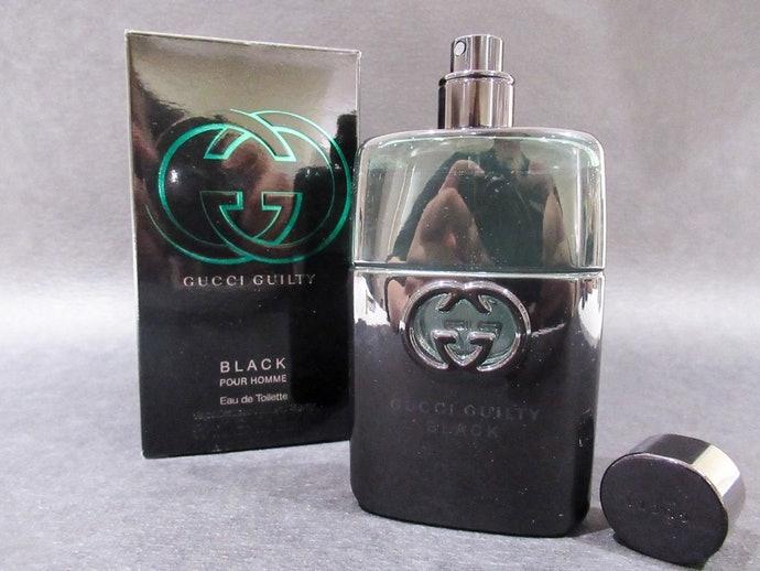 關於 GUCCI 罪愛夜男性淡香水 Guilty Black