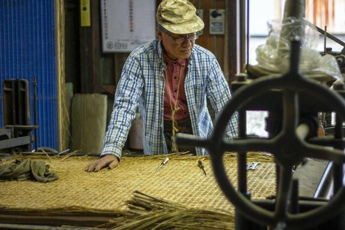 織線的多寡能改變榻榻米的強度