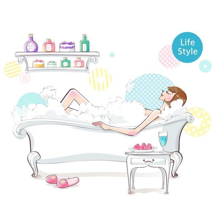 讓泡澡時光更放鬆