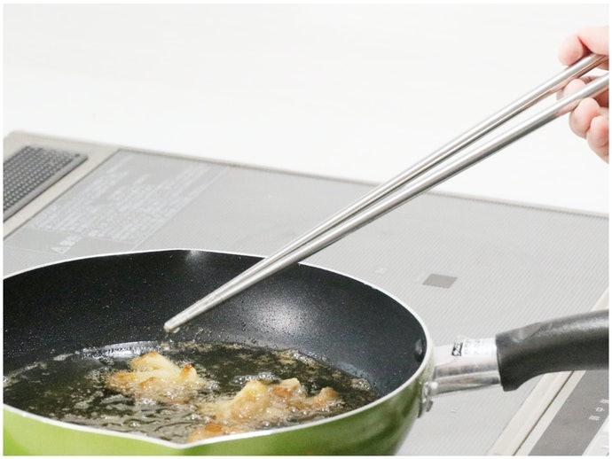 30cm以上的料理長筷:不怕油噴好放心