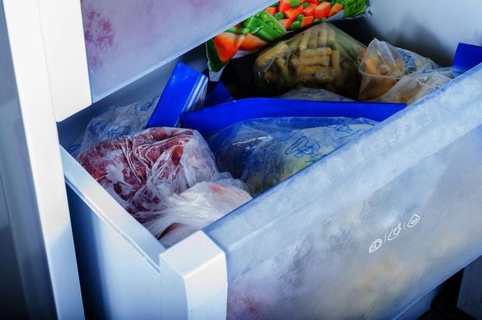 冷凍保存避免變質