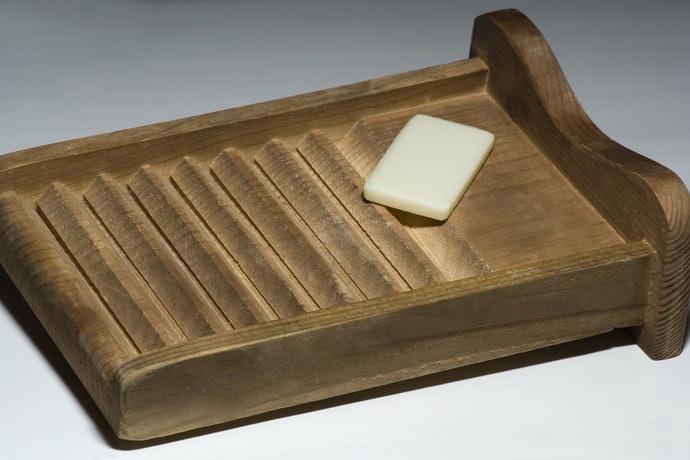 木製:堅固扎實,能強力清除頑固汙垢