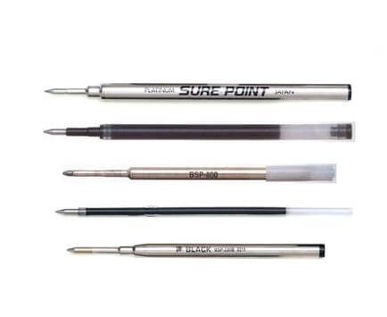 依照用途選擇筆芯粗細