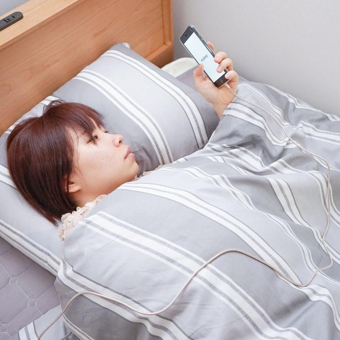 3m:可在床上邊充電邊使用