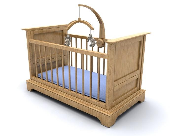 檢查尺寸是否合乎嬰兒床