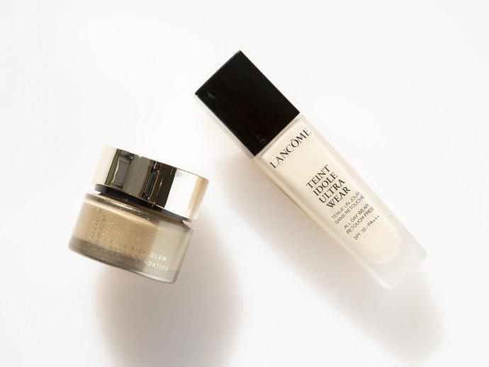乳霜型、液體型:在意肌膚乾燥問題者適用