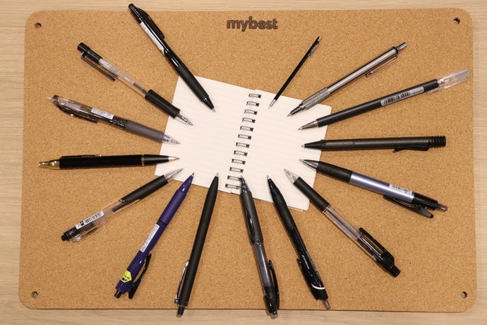 開箱15款人氣油性原子筆