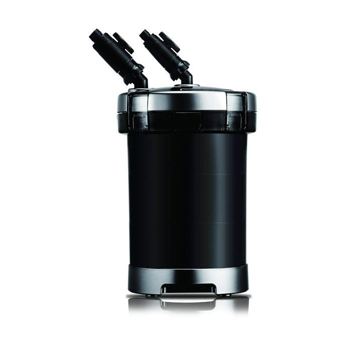 圓桶式:過濾能力高,架設後可保持魚缸簡潔俐落的外觀