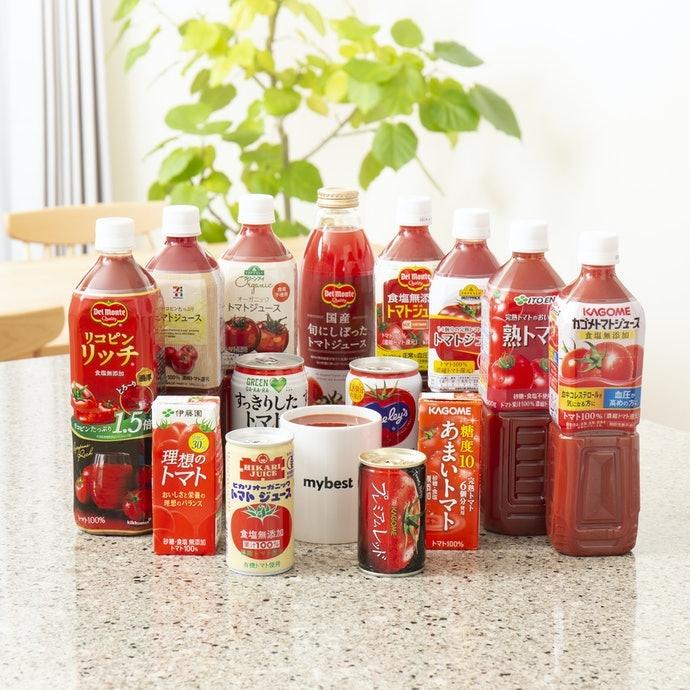 開箱14款人氣番茄汁