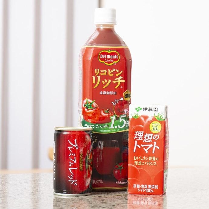 【實測結果】強調添加茄紅素的商品確實含量更高