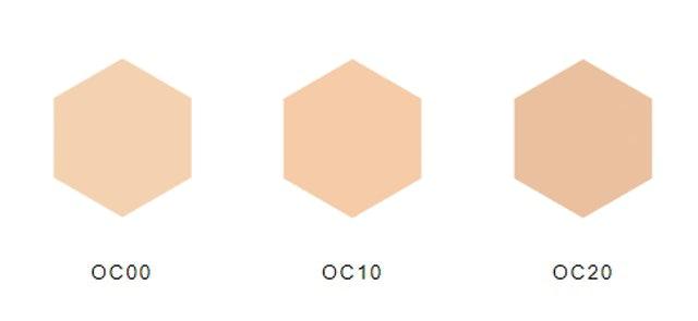 3種基本色號,選色不迷惘