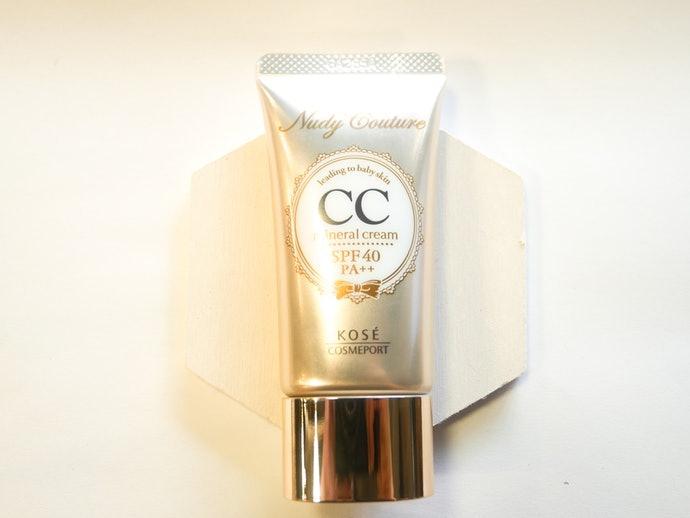 關於 KOSE Nudy Couture 礦物CC霜