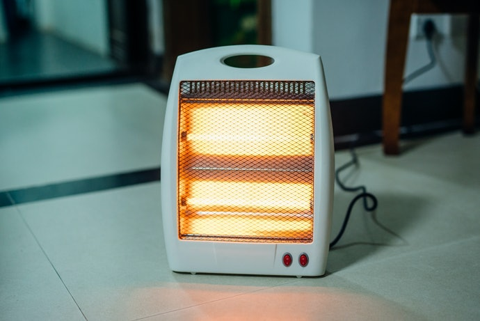 注意耐熱程度,原則上避免與暖氣設備並用