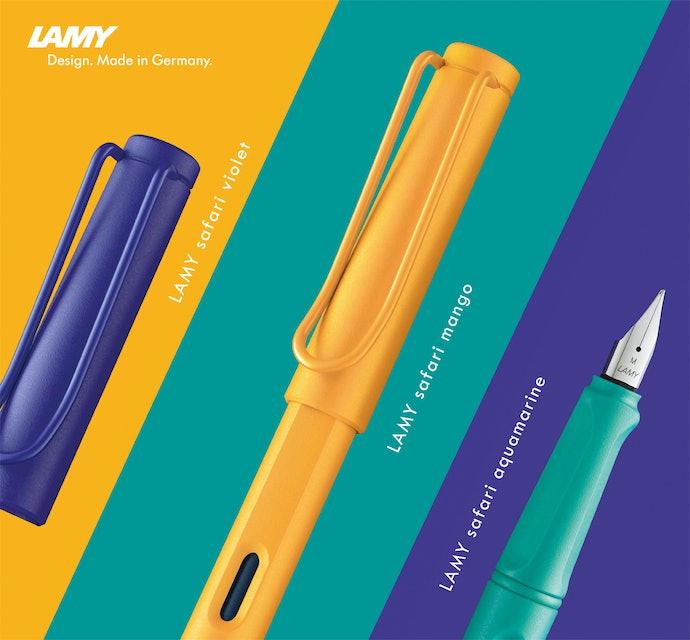 LAMY凌美:風靡世界的熱門鋼筆