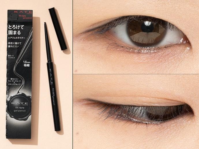 【實測結果】色澤濃密,可一筆完成美麗線條的「KATE」表現最亮眼!