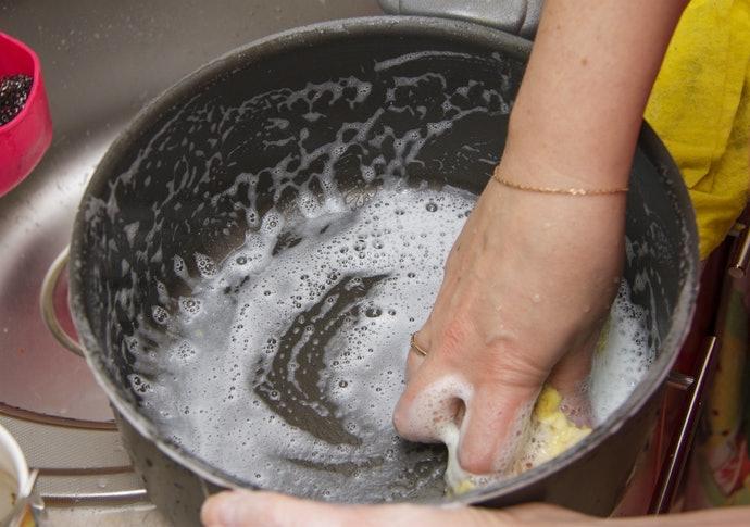 不沾塗層讓清洗更省力