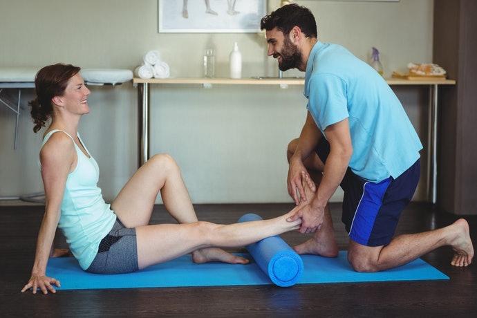 小腿筋膜放鬆:能改善水腫