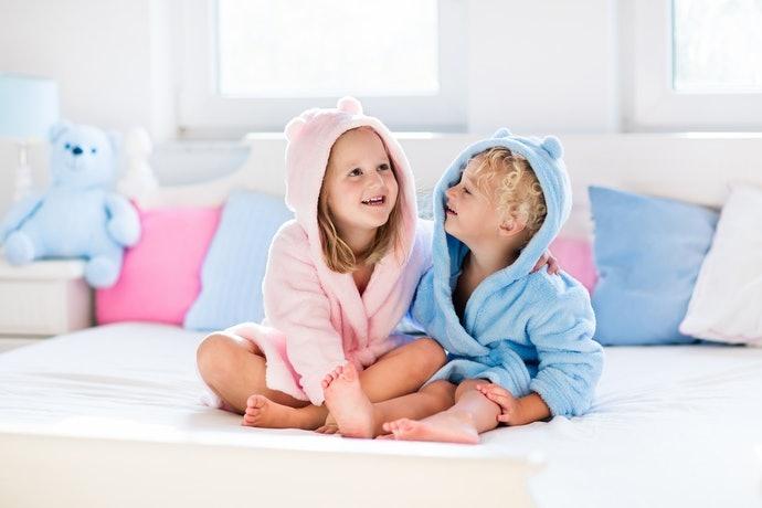 能為父母親分憂解勞的嬰兒用浴袍
