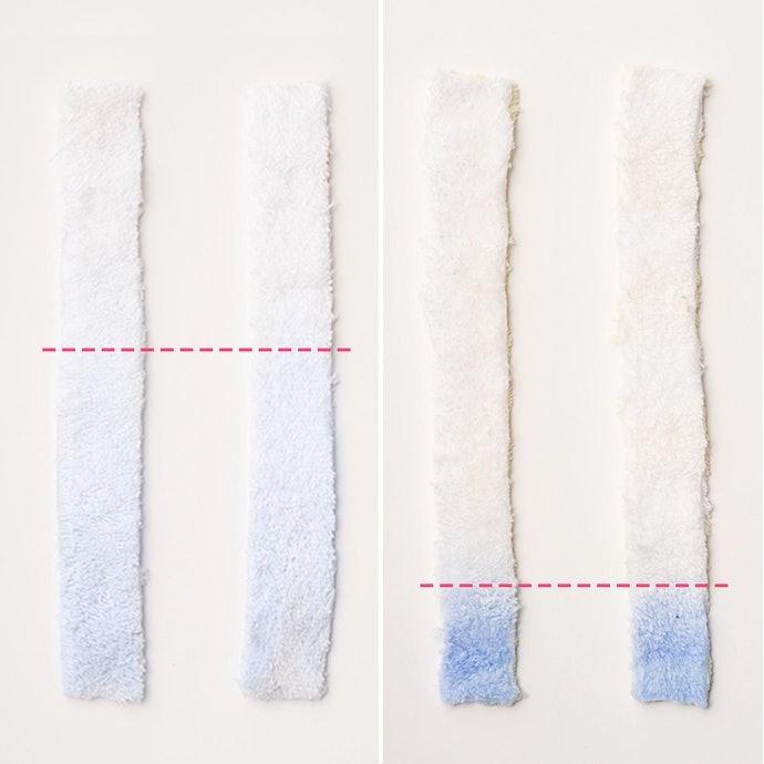 【實測結果】具有厚度、纖維較粗的款式表現亮眼