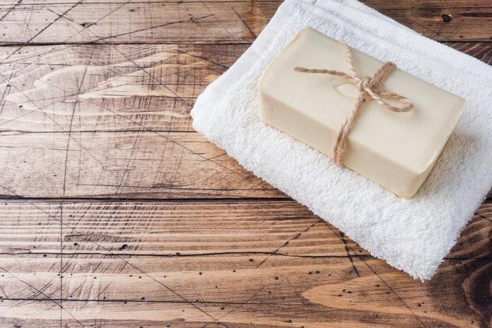 洗淨力溫和的洗面皂是推薦首選