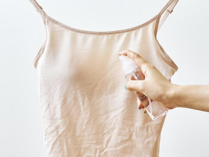 具吸濕快乾性的產品能防止汗水濕黏