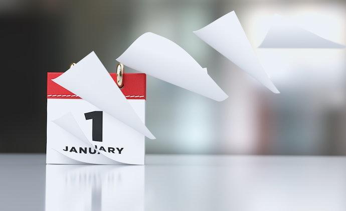 依使用目的選擇「日曆」、「週曆」或「月曆」