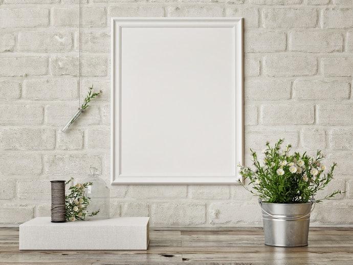 如繪畫作品般,適合妝點牆面的「單面印刷」