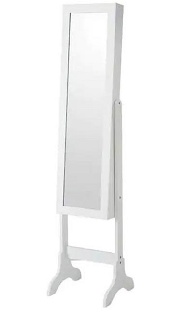 NITORI宜得利家居 附鏡首飾收納櫃 全身鏡 SOFIA HS 1