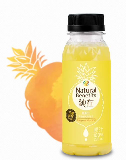 純在  鳳梨汁 1