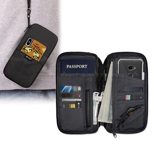 PS生活旅行家  大容量多夾層防盜包 1