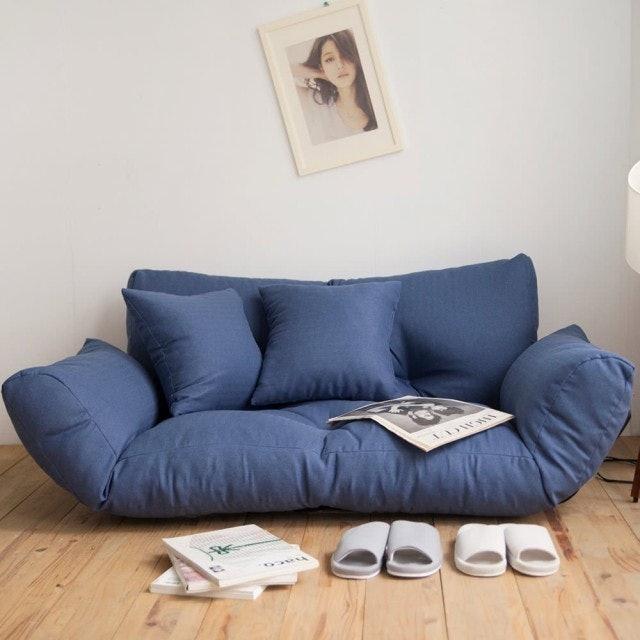 完美主義 激厚胖胖系五段式雙人和室椅 1